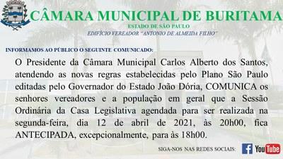 COMUNICADO 09-04-2021